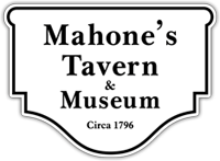 Mahone's Tavern and Museum Sign